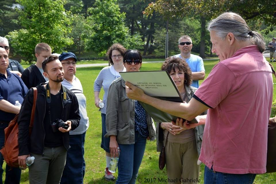 John Simko reveals Nutley history along the Yountakah River.