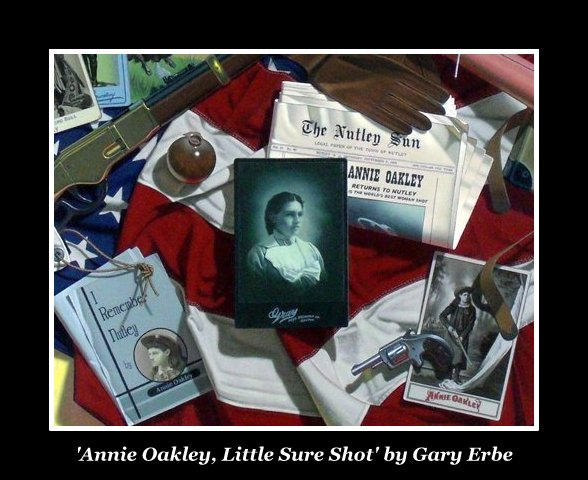 Annie Oakley: Little Sure Shot by Gary Erbe