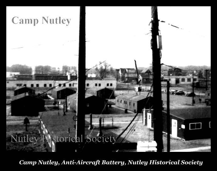 Camp Nutley NJ Antiaircraft Battery - Copyright � 2016 Nutley Historical Societ