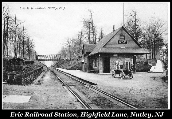 Highfield Rail Station, Nutley NJ - Nutley Historical Society Archives