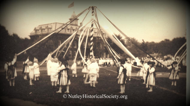 Spring in Nutley, Nutley Historical Society photo archives