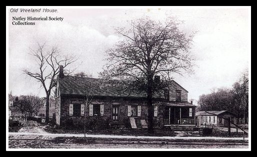 Vreeland House, Chestnut Street, Nutley - Nutley Historical Society collection