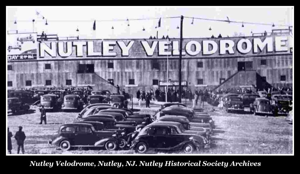 Nutley Velodrome, Opening Day, Bicycle Racing, 1930s
