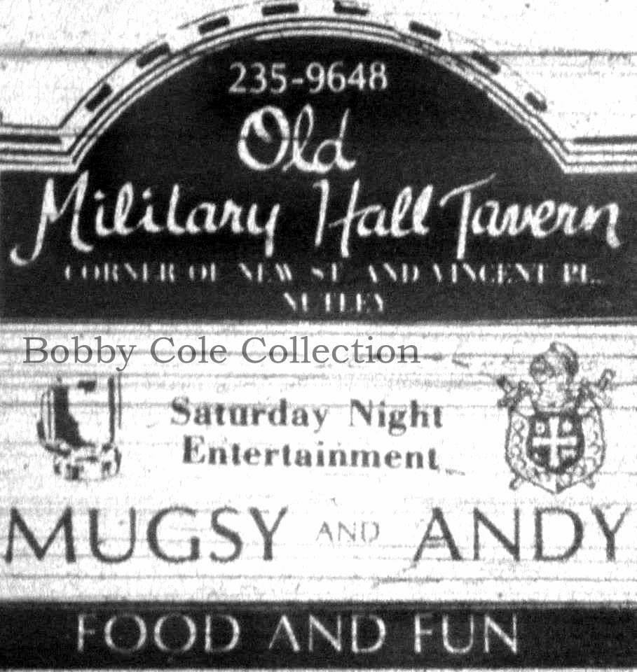 Old Military Hall - ad, Bobby Cole collection
