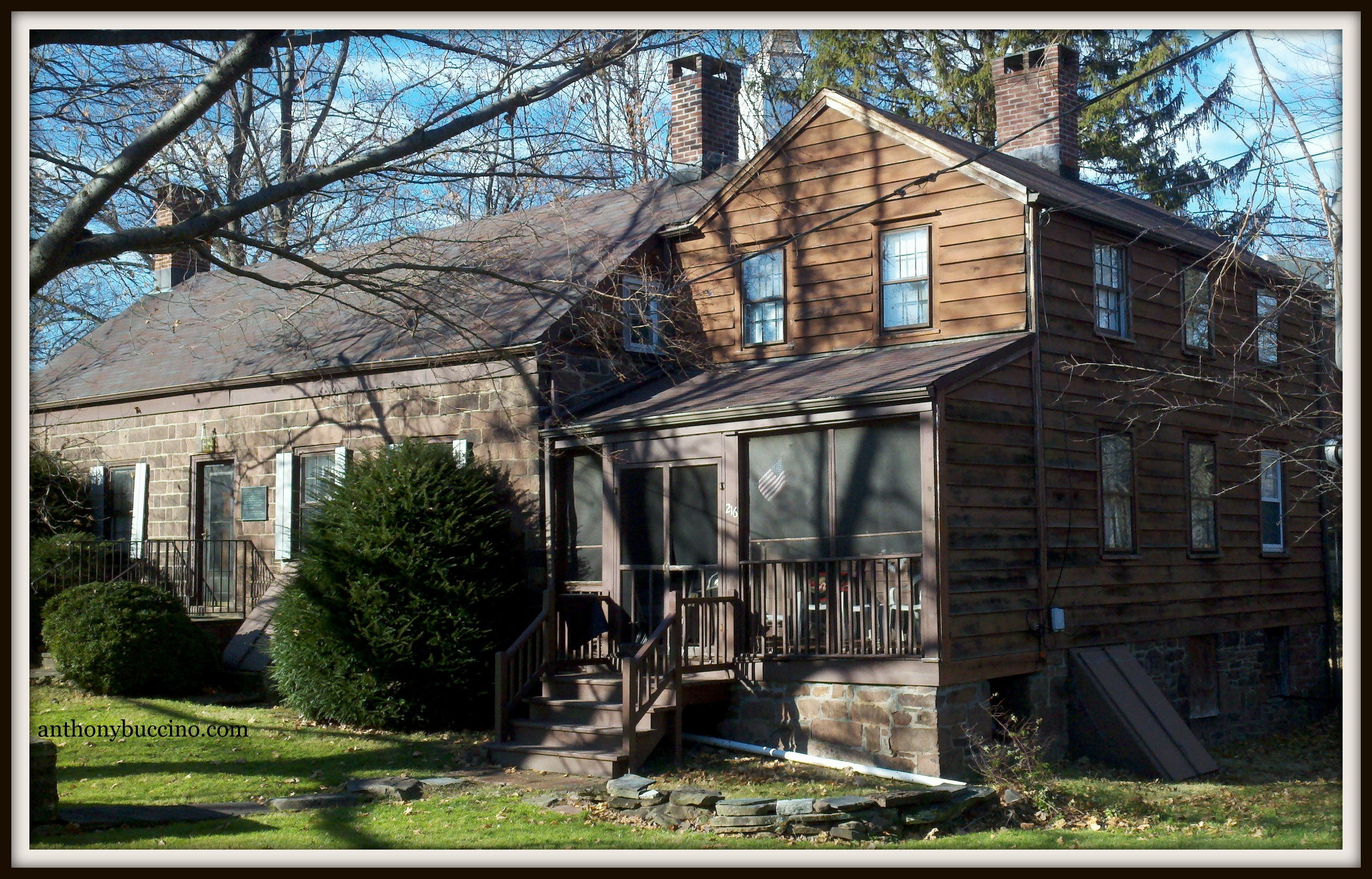 Vreeland House, Chestnut Street, Nutley NJ by Anthony Buccino, copyright 2012, all rights reserved.