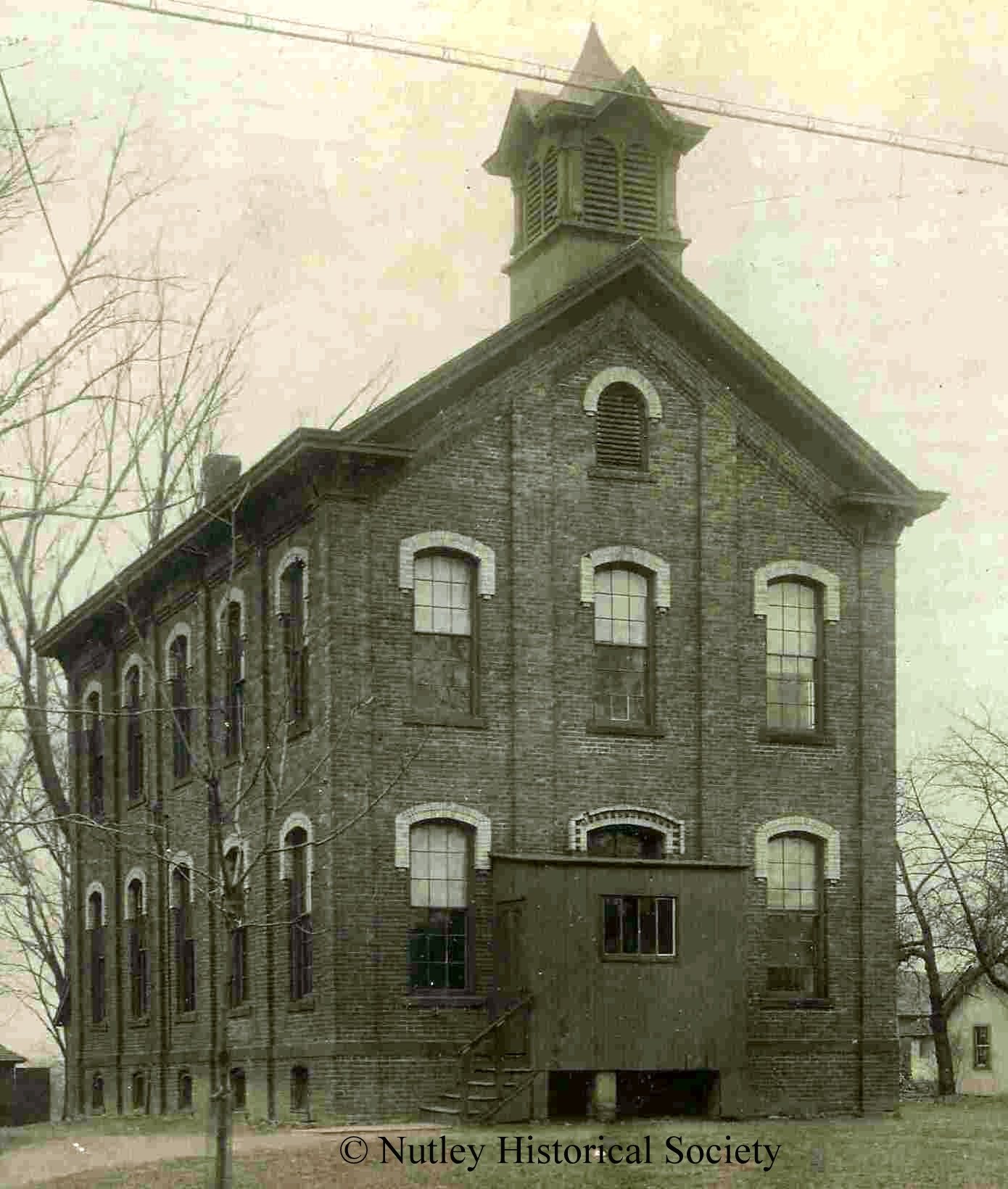 Church Street School, now the Nutley Historical Society and Nutley Museum